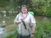 i was at camp the fish weighed at 2- 1/2 ponds