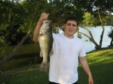 Caught this Hog on a yum dinger watermelon wacky style no weight..... in good old goose creek, south carolina