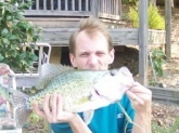 I caught this a 2lb 6oz Crappie that was 17 inches long at a Private Pond in Richmond, VA  Used a Berkley Power Grub.