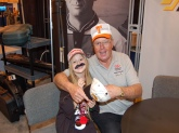 Thanks Bill!!!  In this picture  Skyla Thompson with Bill Dance, Bass Master Classic 2011.