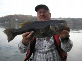A once in a lifetime 6.4 Small Mouth caught at PickWick Lake, Dry creek 8AM on a Storm Minnow.