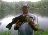 caught in midlothian va about 12 lbs! its a hog