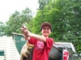i caught this largemouth in NH it weighed 8lbs 8oz on a bass pro xps topknocker