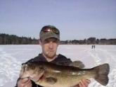 i took my step son ice fishing for his first time and he couldn't bring this bad boy in it was a grate time it weight 6 lbs were getting it mounted and putting it on the wall not the biggest fish ever but a unforgettable moment that's for sure..