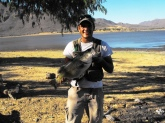 this 10.34 lbs  bass  was a great catch.  cought  with a soft plastic lizzard.   i  cought it  down in a lake  named ''el veranito''        in mexico.  XD!