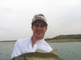 Caught May 26, 2012 on Lake Amistad in Del Rio, Tx.   Length: 27