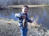 my name is dalton im three years old and i love to fish...