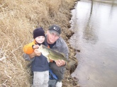 we worked together on this one back on march 11 2012 got i her on a 6ft ultralight rod with 6lb test