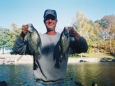 crappies caught on lake barkely kentucky in the fall of 07 on a slip bobber tipped with a minnow. it was a good week