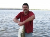 Riverton NJ,38 inch,35 lb striper caught on blood worms, Delaware River
