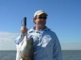 I caught this beautiful Redfish on a fly rod on the Mississippi Gulf Coast.