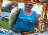Hi mr.Dance  I get my big bass at Yellow Lake new York we were camping and fishing on the 24 of June  we were down on the dock fishing I was using a worm and my open face rod and reel from you  my fish was 4 lbs and 18