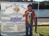 PB 10lbs 3oz  Third overall in Lake Austin BSCBC Big Bass tournament
