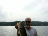 Caught this 5 lb 2 oz on Amos Lake in Preston Ct on a 6 inch wacky worm