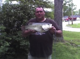 I cought this 7lb 4oz 21inch bass on a conservation lake in salem mo. on a gold & black rattle trap in early spring of 08