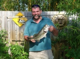 This fish was caught at the C-54 canal near the stick marsh in Florida using a YUM 6