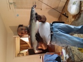 10 pound channel cat caught in Fort Worth TX at  Lake Arlington fishing with Night crawlers