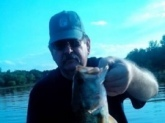 Watching Bill does pay off I had been out of fishing for several years. I started watching his show to build back my knowledge. This was the first bass of the day, 3.5lbs, I caught 8 fish this day, all between 2lb and the 3.5lb. Not bad for an old rusty fisherman Thanks Bill