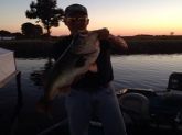 9 lb. 13 oz. largemouth. Caught by Tim Harris of Ashland, Kentucky on Lake Toho in St. Cloud, Fl. on Dec. 16, 2014. In the last 2 weeks Tim has caught more than 200 fish.
