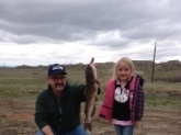 My daughter Dakota caught this channel cat on the Yellowstone just outside Miles City in May 2014.  Almost stole her pole!  Not sure of length or weight but it took a while to reel in.