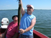 Me and Dad on Lake Winnebago