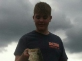 Samuel McCallie- 5 lbs 3 oz Largemouth caught on Lake Chickamauga in Dayton, TN.