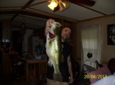 tifton ga didnt weigh but was 29 in long and the date on photo is not correct