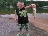 My little man skunked me! Tennessee River!
