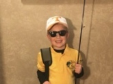 Our son is a huge fan of Mr. Dance, so he chose to dress up as his favorite fisherman for Halloween this year! His costume was a huge hit, and lots of locals knew immediately who he was. One neighbor even asked to take a photo with 'Bill' to show all his fishing buddies!   Thank you, Mr. Dance, for being a fun, positive role model for our son.