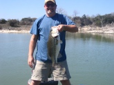 This fish was caught from a 7,800 acre lake in Waco, Tx. on a 8