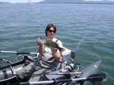 Mother's day Clear Lake senko bass. Lakeport, Ca.