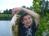 Hi Bill My name is Ben and i,m 12 years old this my largest fish so far it was 19