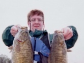 Left side is 5 lb., 10 oz and the right one is 5 lb., 3 oz. Both Smallmouth caught on the Tennessee river below Wilson dam.