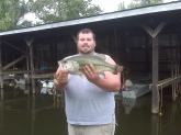 7.5 lbs.  Private Lake Hopkinsville Kentucky