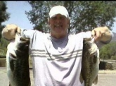 4 & 7 lb. Large Mouths @ Lake Skinner CA. Caught on 6in Plastic    Worm.
