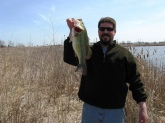 5 lbs 1 ounce caught early spring on a XPS super shallow crank bait (chart.shad #44) my personal favorite lure.