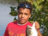 Xzavier Thompson caught this bass in Smyrna,Tennessee.  The fish weighed 6.31 pounds.