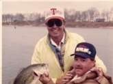 While cleaning out some old files, I ran across this photo of my husband and Bill Dance back in the early 1980's.  Both men look just a little different now.  But the fishing is still the same.