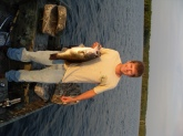 Lake Monticello 9 lbs 2 oz Red Shad 10