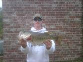 This is an 8 pounder i caught in a private lake in Mississipi