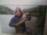 5lbs 15 oz stonewall jackson lake west virginia...fall fishing...crankbait