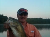 Yalobousha County, MS 5lbs 14oz Early morning buzz bait.