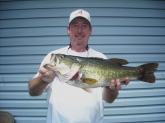 This 6lb Large Mouth was caught at a private lake in Wellington AL.
