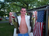 two 17 inch largemouths