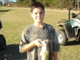 Caught in Greenville,AL -By wyatt wood   I caught this 5lb bass using a black and silver Rapala,using the pause and retrieve action I learned from your show Mr.Dance,and this is the one I caught for you!