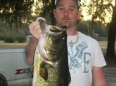 9lbs5oz 24in long caught in tallahassee in a lake in february
