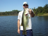 Caught in Lucedale, MS on a swimbait. It weighed 5lbs 10oz.