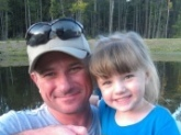 This is my 4 year old Halynn and her first warmouth. It is her first fish also. Kinda makes a daddy proud.