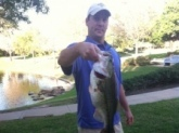 Spring time bass...caught in Spring, Texas. March 2012