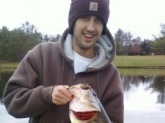 5 pounds 20.5 in caught in ortonville Michigan on huff lake using a crawfish crankbait.